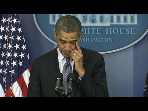 Newtown, Connecticut Shooting: Obama Tears up in Emotional Statement - ABC News