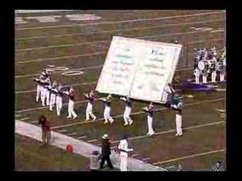 Washington Township High School Marching Band 2004