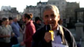 "Another World is Possible"" - David Yaffe (RCG / FRFI) speaks at Cuban Five rally in London"