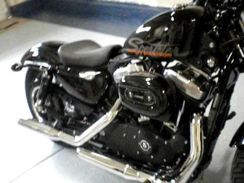 2010 Harley Davidson Sportster 48 - first in Sacramento.avi