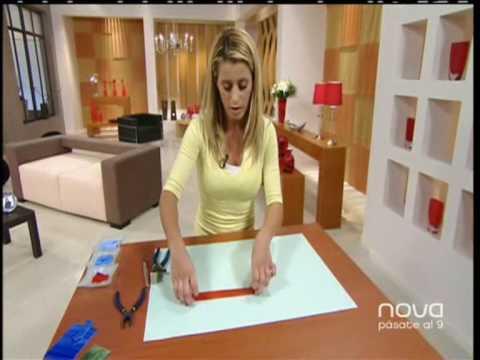 Nuria s nchez realiza una mesa con t cnica de mosaico for Mesas de mosaico