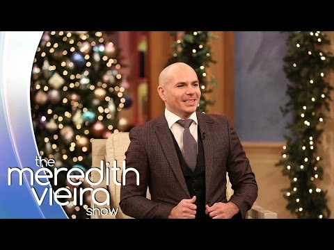Pitbull On Dale! | The Meredith Vieira Show