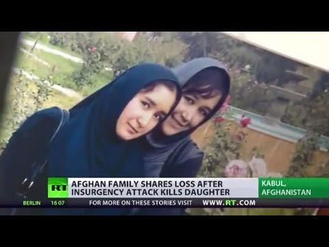 Afghan family mourns daughter slain in Taliban guesthouse attack : Lucy Kafanov reports