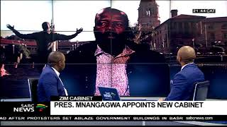 DEBATE: Appointment of Zimbabwe's new cabinet - Part 1