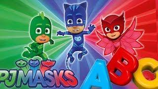 PJ Masks ABCs Nursery Rhymes and Kid Songs