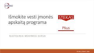 Stekas Plius Nuotoliniai kursai internete
