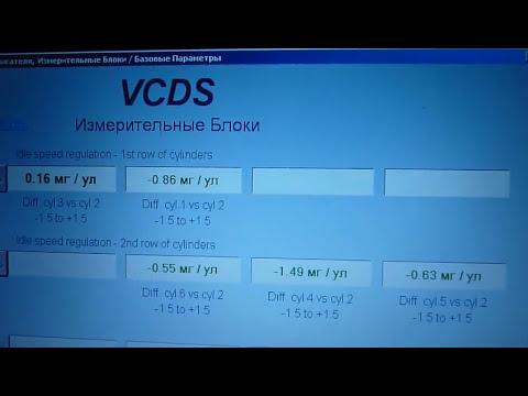 VCDS Измерительные блоки