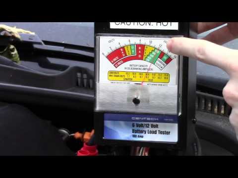 Load Test Your Car Battery