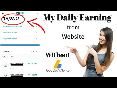 How Much Do I Earn From Website Without Adsense [ Payment Proof ]