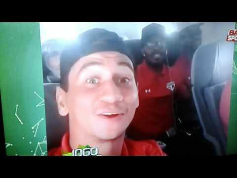 Mensagem  de Paulo Henrique  Ganso  para o Denilson  no Jogo Aberto  após a classificação.