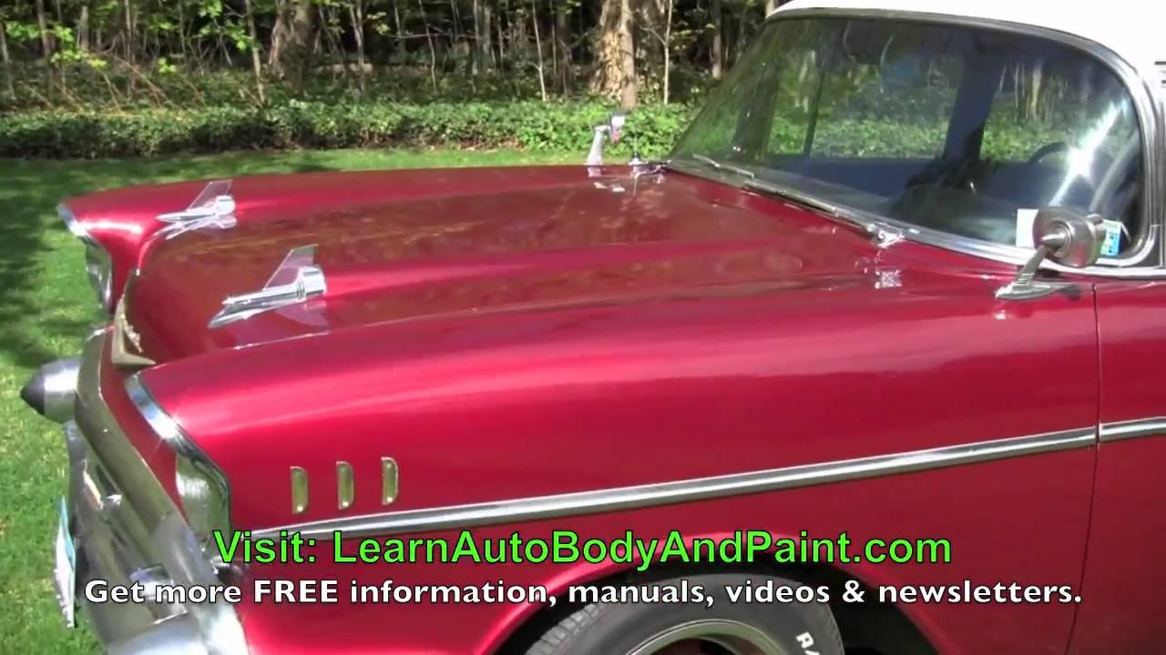 Do It Yourself Car Paint Scratch Video