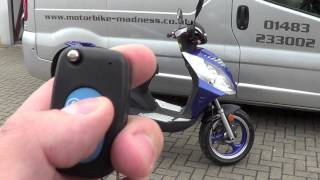 Guide: How To Operate Your Alarm/Remote Start On Your Moped motorbike-madness scooter-madness