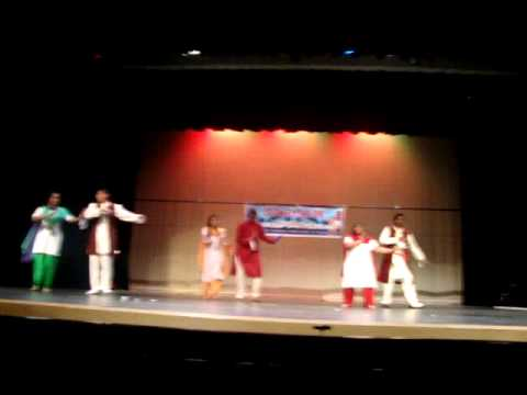 2009 SARGAM Christmas Program Hindi Film Dance
