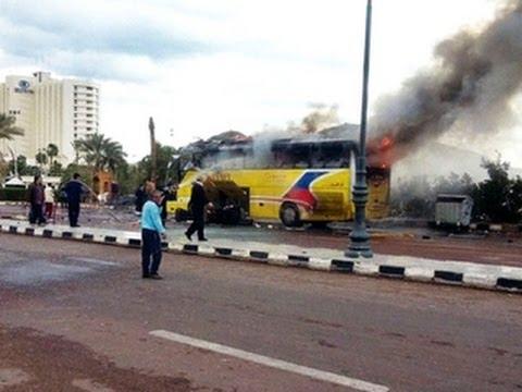 Deadly tour bus explosion in Egypt's Sinai region