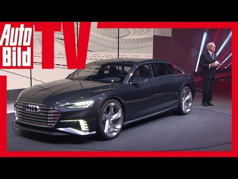 Audi A9 Prologue Avant Sitzprobe - Audi A9 In Genf 2015 video