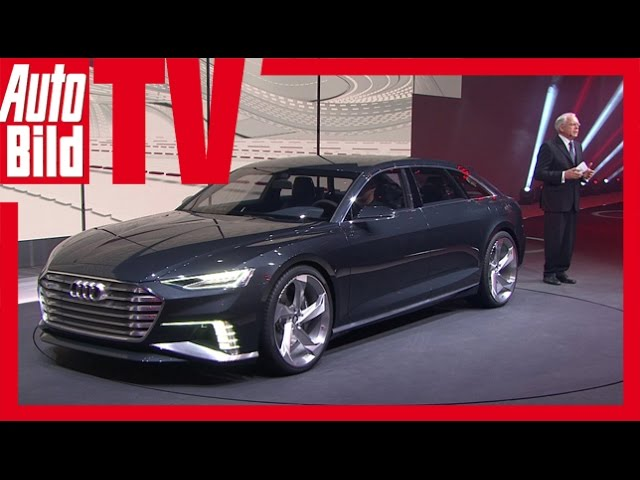 Audi A9 Prologue Avant Sitzprobe - Audi A9 in Genf 2015 ...