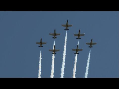 2015 Manassas Airshow - Breitling Jet Team