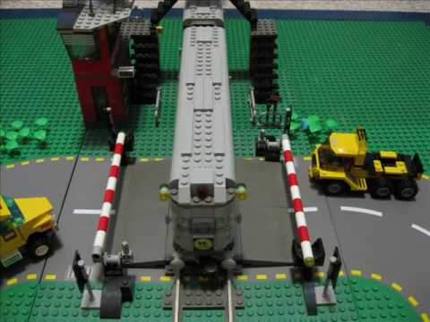 Lego Freight Train Crash