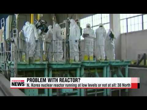 N. Korea nuclear reactor running at low levels or not at all: 38 North   38노스 &q