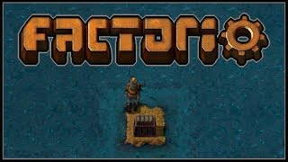 Factorio Sea Block #1 - An Intergalactic Starship Made of Water Sediment (0.15)