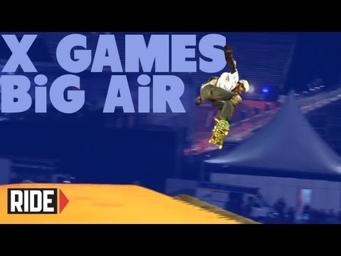 BIG Air Finals - X Games Brazil 2013