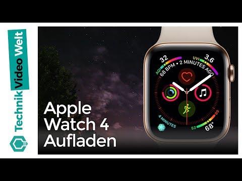 Apple Watch Aufladen