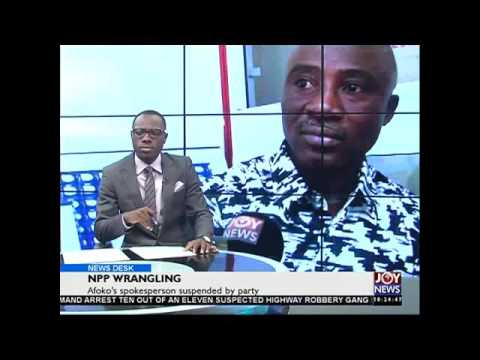 Power barge - News Desk on Joy News (30-11-15)