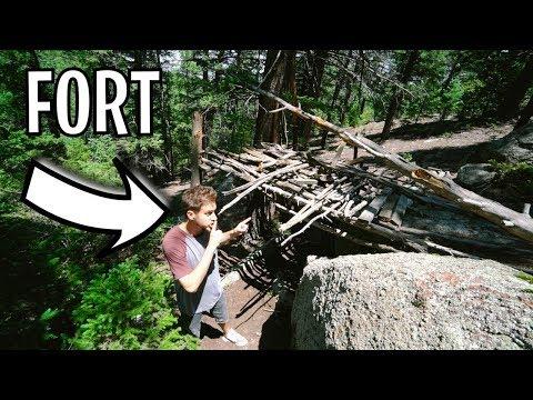 FOREST FORT RETURNS! *nature fort*