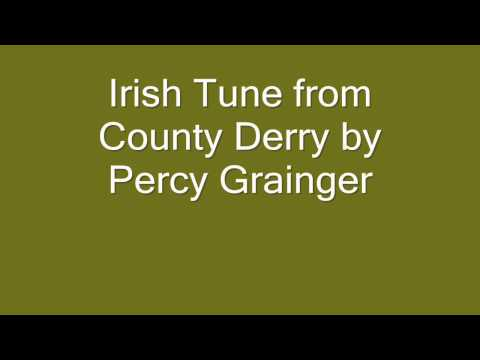 Irish Tune from County Derry by Percy Grainger
