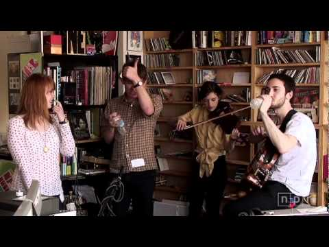 NPR Music Tiny Desk Concert: Los Campesinos!