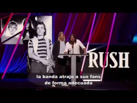 RUSH @ Rock and Roll Hall of Fame 2013 - COMPLETE ! SUBTITULOS ESPAÑOL - April 18th, 2013