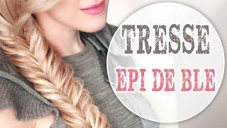 Tresse épi de blé ❤ Tuto coiffure facile à faire soi même RENTREE SCOLAIRE