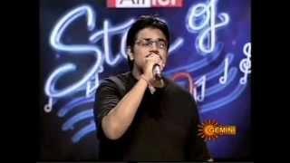 PRANAV SESHA SAI SINGING GANDHAPU GALI & TARALI RAADA IN AIRTEL STAR OF AP