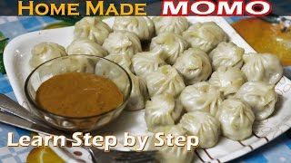 How to make Momo at Home - Learn to make step by step ll Easy & Quick Recipe