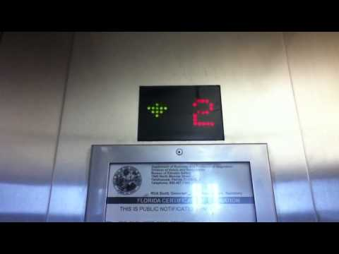 Mowrey Hydraulic Scenic Elevators @ West Palm Beach Tri-Rail/Amtrak Station