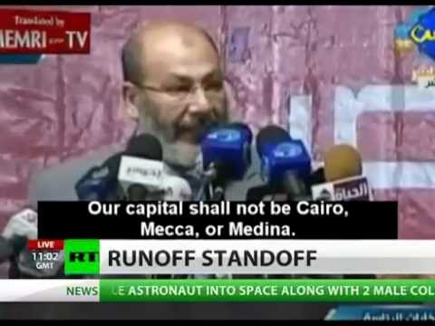 Egypt : Anti-Israel chant sweeps across Egypt on weekend of Election (Jun 16, 2012)