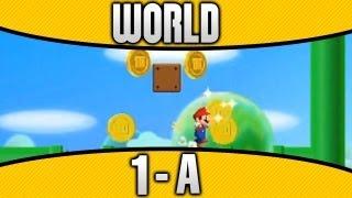 New Super Mario Bros. 2 - World 1-A 100% All Star Coins