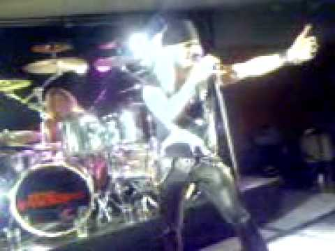 The Poodles - Fear of the dark (Iron maiden cover) live 06SW