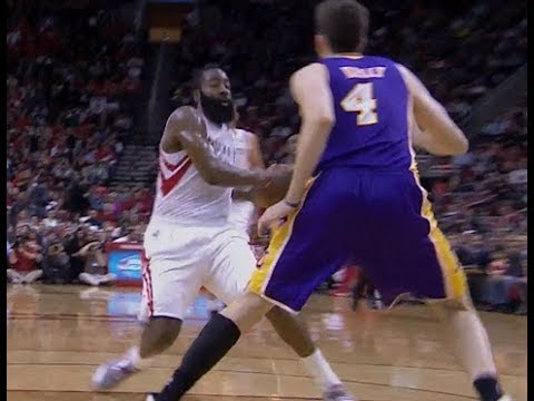 James Harden Eurostep on Ryan Kelly