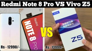 Redmi Note 8 Pro Vs Vivo Z5 - Full Comparison, Price, Camera, Specs, Launch Date, Unboxing, Review?