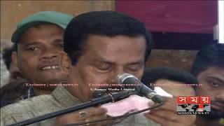 কাঁদতে কাঁদতে সাদেক খানের জন্য ভোট চাইলেন নানক | Jahangir Kabir Nanak | www.somoynews.tv