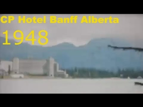 Fairmont Banff Springs Hotel Alberta Canada 1948