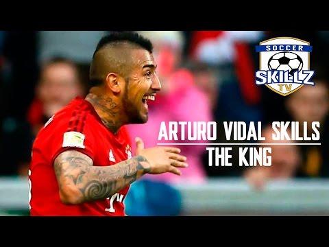 Arturo Vidal Skills | The King