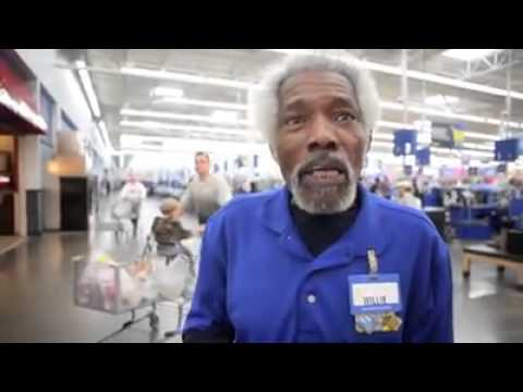 Mr.Willie Walmart Maumelle Arkansas Greeter goes BAM!!!