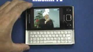 SonyEricsson EXPERIA X2 Windows Mobile 6.5 安裝Niches Watch TV實測報導