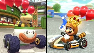 Mario Kart 8 Deluxe - All 8 Battle Courses (Balloon Battle) + All 6 New Characters
