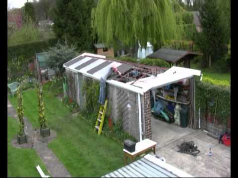 Compton Concrete Garage Roof Revamp Youtube