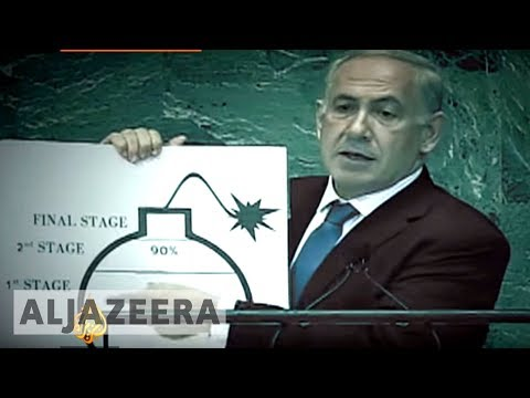 As Israel\'s Prime Minister Benjamin Netanyahu sounded the alarm at the UN in 2012, a leaked intelligence document reveals Israel's spy agency had concluded that Iran was not, in fact, building nuclear weapons.  Al Jazeera\'s Clayton Swisher reports.   Read more: http://aje.io/b6kt  Read more:   Subscribe to our channel  http://bit.ly/AJSubscribe Follow us on Twitter https://twitter.com/AJEnglish Find us on Facebook https://www.facebook.com/aljazeera Check our website:  http://www.aljazeera.com/