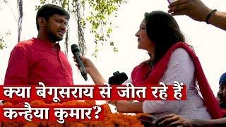 Exclusive - Kanhaiaya Kumar with Aarfa Sherwani