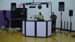 DJ Gig Log Setup Time Lapse